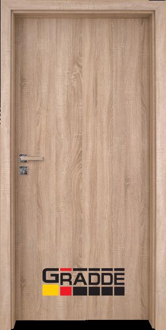 Интериорна врата Gradde Simpel, Дъб Вераде