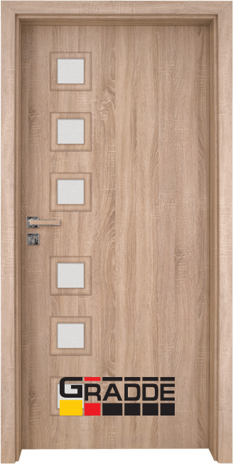 Интериорна врата Gradde Reichsburg, Дъб Вераде
