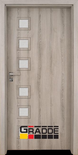 Интериорна врата Gradde Reichsburg, Ясен Вералинга