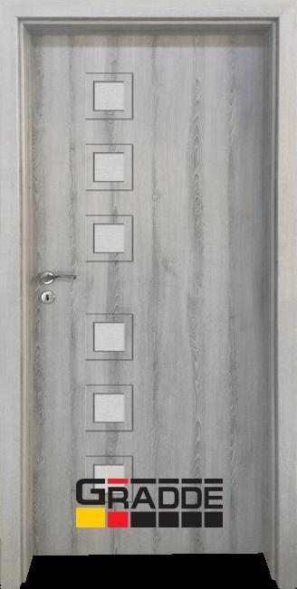 Интериорна врата Gradde Reichsburg, Орех Рибейра