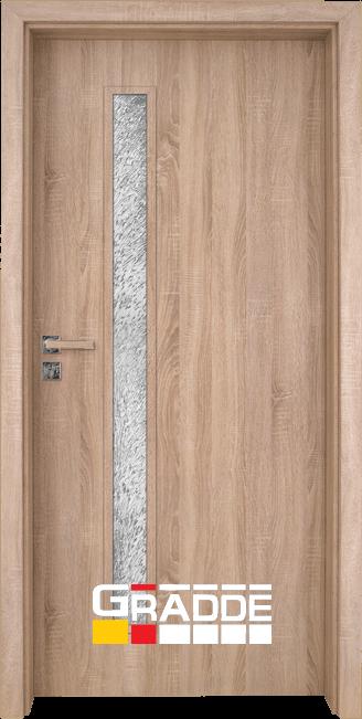 Интериорна врата Gradde Wartburg, Дъб Вераде