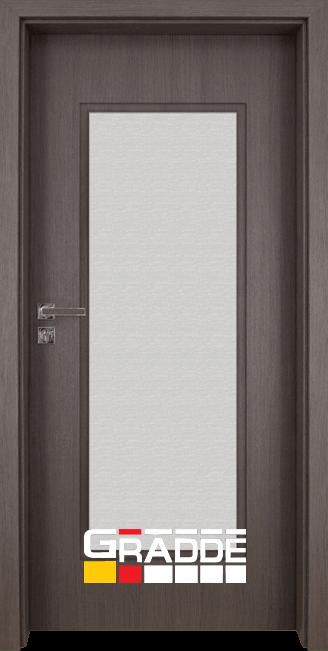 Интериорна врата Gradde Baden, модел 1, Череша Сан Диего