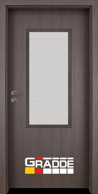 Интериорна врата Gradde Baden, модел 2, Череша Сан Диего