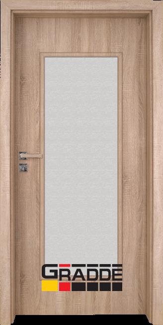 Интериорна врата Gradde Baden, модел 1, Дъб Вераде