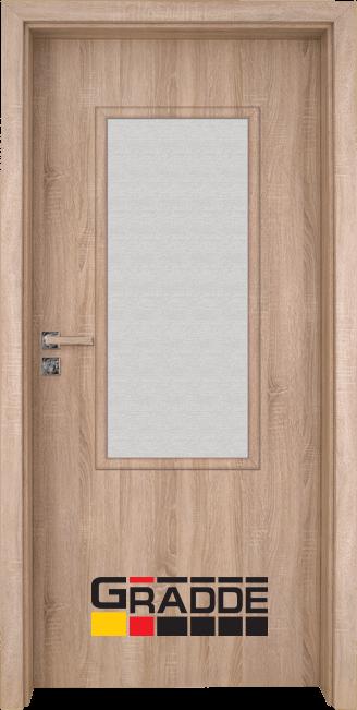 Интериорна врата Gradde Baden, модел 2, Дъб Вераде