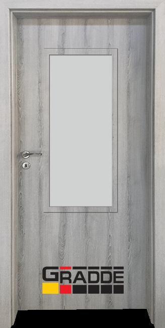 Интериорна врата Gradde Baden, модел 2, Сибирска Лиственица