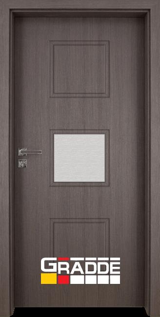 Интериорна врата Gradde Bergedorf, модел 3, Череша Сан Диего