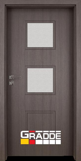 Интериорна врата Gradde Bergedorf, модел 4, Череша Сан Диего