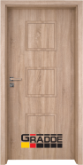 Интериорна врата Gradde Bergedorf, модел Full, Дъб Вераде
