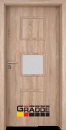 Интериорна врата Gradde Bergedorf, модел 3, Дъб Вераде