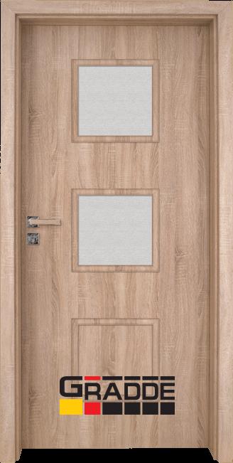 Интериорна врата Gradde Bergedorf, модел 4, Дъб Вераде