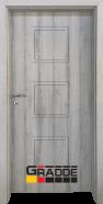 Интериорна врата Gradde Bergedorf, модел Full, Ясен Вералинга