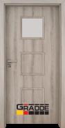 Интериорна врата Gradde Bergedorf, модел 1, Ясен Вералинга