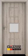 Интериорна врата Gradde Bergedorf, модел 3, Ясен Вералинга