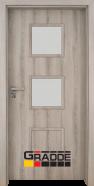 Интериорна врата Gradde Bergedorf, модел 4, Ясен Вералинга