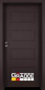Интериорна врата Gradde Blomendal, модел Full, Орех Рибейра