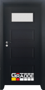 Интериорна врата Gradde Blomendal, модел 1, Орех Рибейра