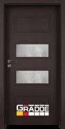 Интериорна врата Gradde Blomendal, модел 4, Орех Рибейра