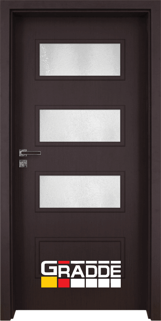 Интериорна врата Gradde Blomendal, модел 6, Орех Рибейра