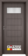 Интериорна врата Gradde Blomendal, модел 1, Череша Сан Диего