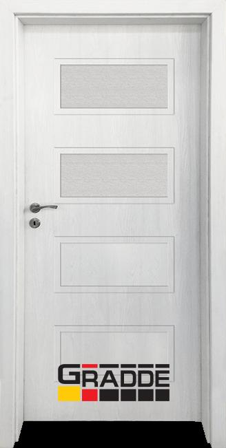 Интериорна врата Gradde Blomendal, модел 3, Сибирска Листвeница