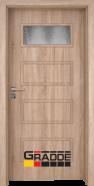 Интериорна врата Gradde Blomendal, модел 1, Дъб Вераде