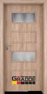 Интериорна врата Gradde Blomendal, модел 2, Дъб Вераде