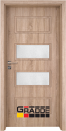 Интериорна врата Gradde Blomendal, модел 4, Дъб Вераде