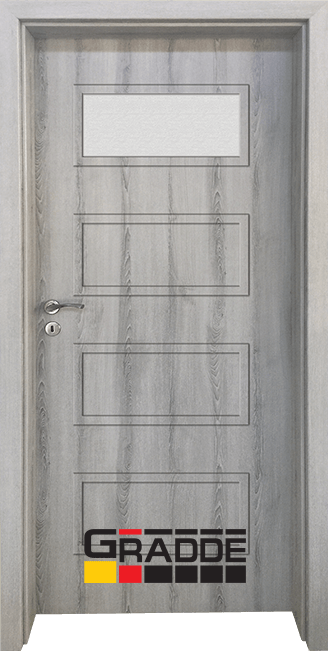Интериорна врата Gradde Blomendal, модел 1, Ясен Вералинга