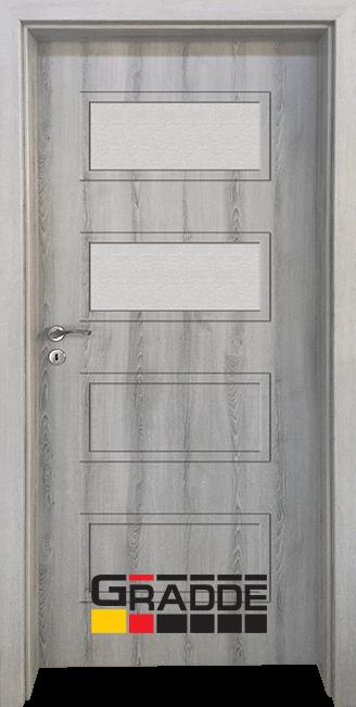 Интериорна врата Gradde Blomendal, модел 3, Ясен Вералинга