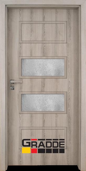 Интериорна врата Gradde Blomendal, модел 4, Ясен Вералинга