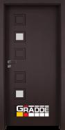 Интериорна врата Gradde Reichsburg, модел 1, Орех Рибейра