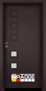 Интериорна врата Gradde Reichsburg, модел 3, Орех Рибейра