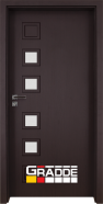 Интериорна врата Gradde Reichsburg, модел 4, Череша Сан Диего