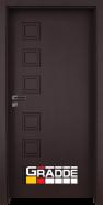 Интериорна врата Gradde Reichsburg, модел Full, Орех Рибейра
