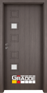 Интериорна врата Gradde Reichsburg, модел 1, Череша Сан Диего