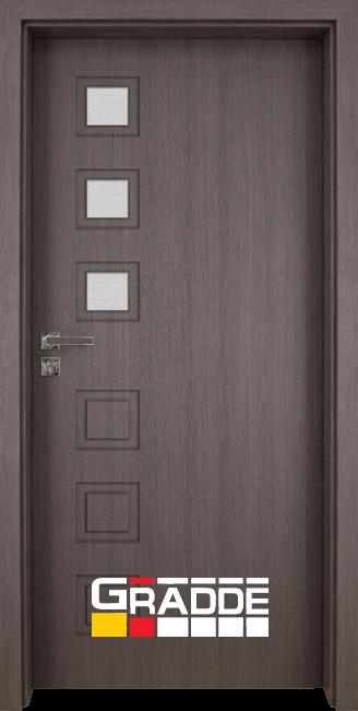 Интериорна врата Gradde Reichsburg, модел 2, Череша Сан Диего