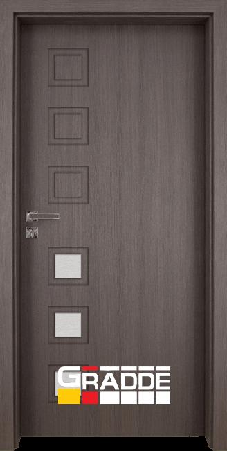 Интериорна врата Gradde Reichsburg, модел 3, Череша Сан Диего