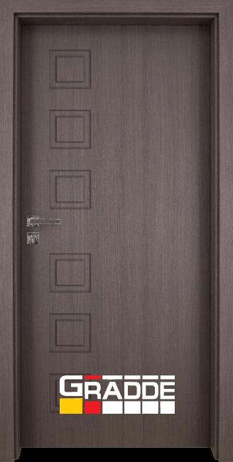 Интериорна врата Gradde Reichsburg, модел Full, Череша Сан Диего