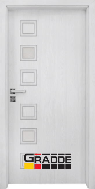 Интериорна врата Gradde Reichsburg, модел 1, Сибирска Листвeница