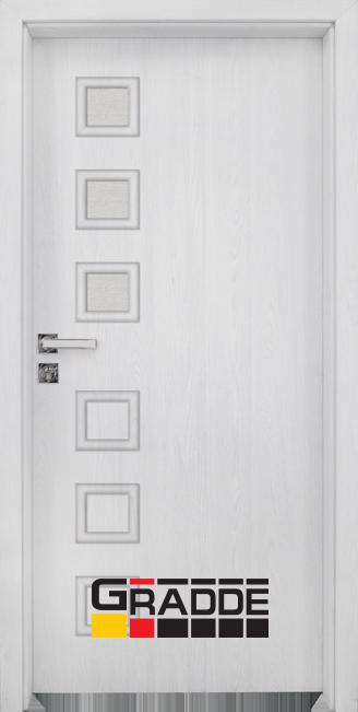 Интериорна врата Gradde Reichsburg, модел 2, Сибирска Листвeница