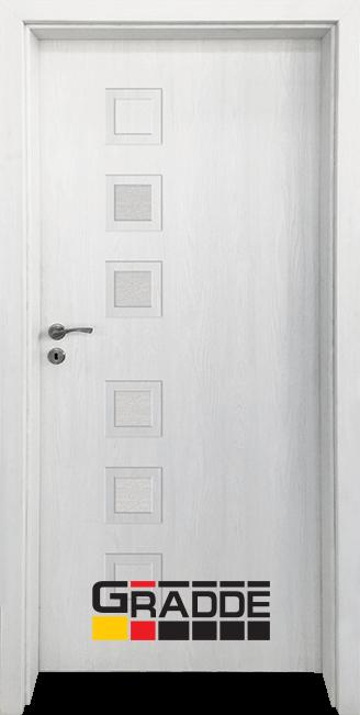 Интериорна врата Gradde Reichsburg, модел 4, Орех Рибейра