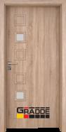 Интериорна врата Gradde Reichsburg, модел 1, Дъб Вераде