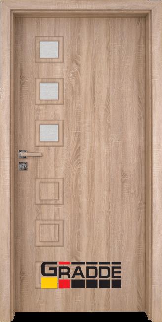 Интериорна врата Gradde Reichsburg, модел 2, Дъб Вераде