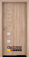 Интериорна врата Gradde Reichsburg, модел 3, Дъб Вераде
