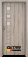Интериорна врата Gradde Reichsburg, модел 2, Ясен Вералинга