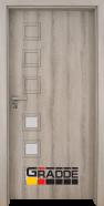 Интериорна врата Gradde Reichsburg, модел 3, Ясен Вералинга