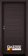 Интериорна врата Gradde Schwerin, модел Full, Орех Рибейра