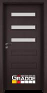 Интериорна врата Gradde Schwerin, модел 4, Орех Рибейра