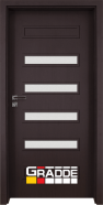 Интериорна врата Gradde Schwerin, модел 8, Орех Рибейра